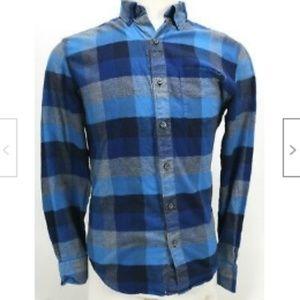 Bonobos Men's Dress Shirt Sz Small Blue Excellent
